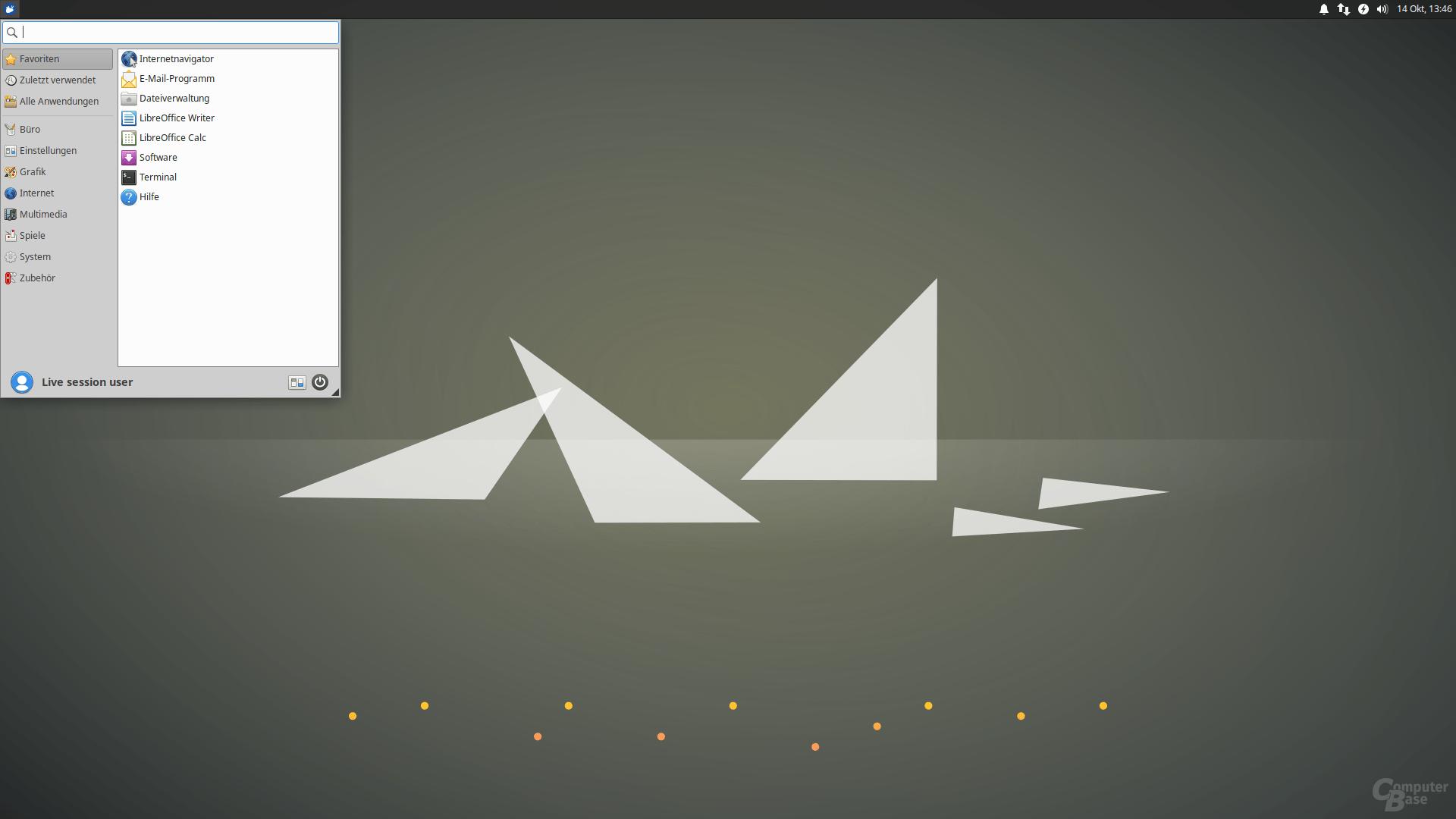 Xubuntu 20.10 – Desktop