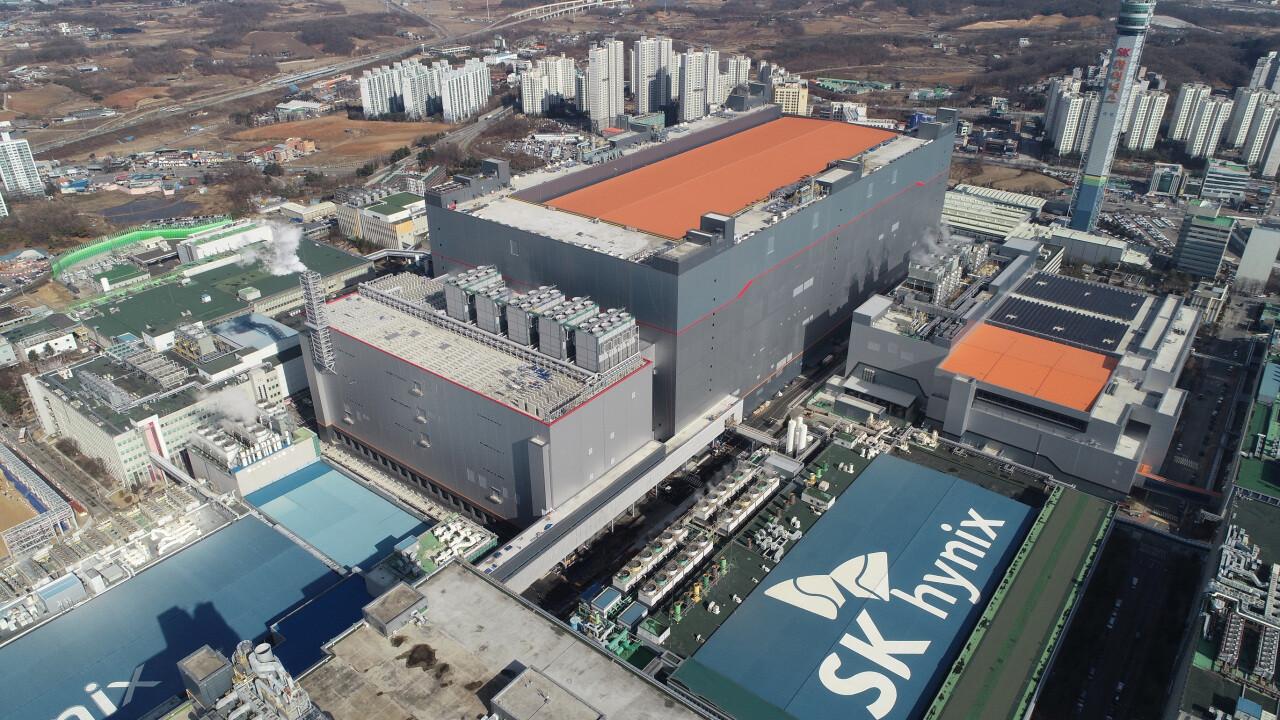 SK Hynix: Erste EUV-Fabrik M16 ist bereit für Alpha-DRAM (1a)