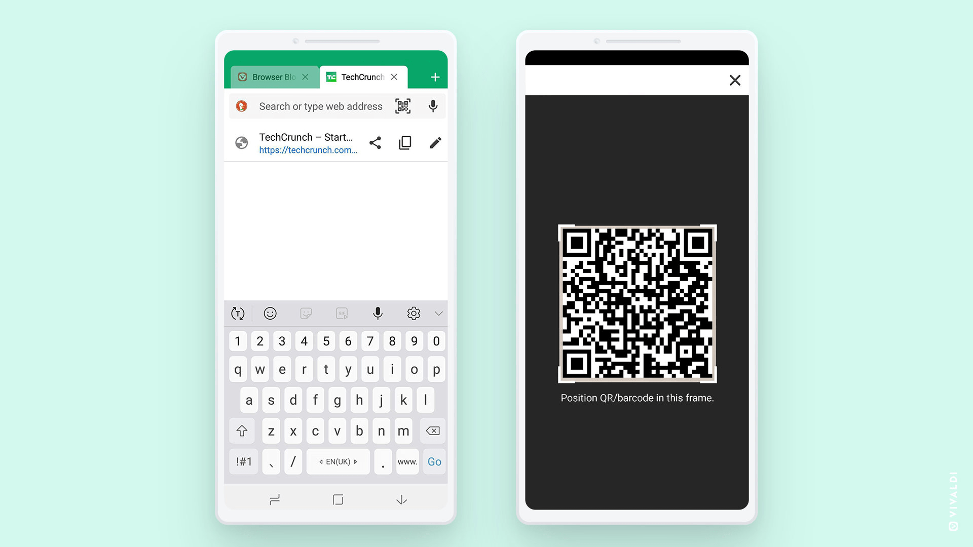 Der neue Scanner für QR-Codes