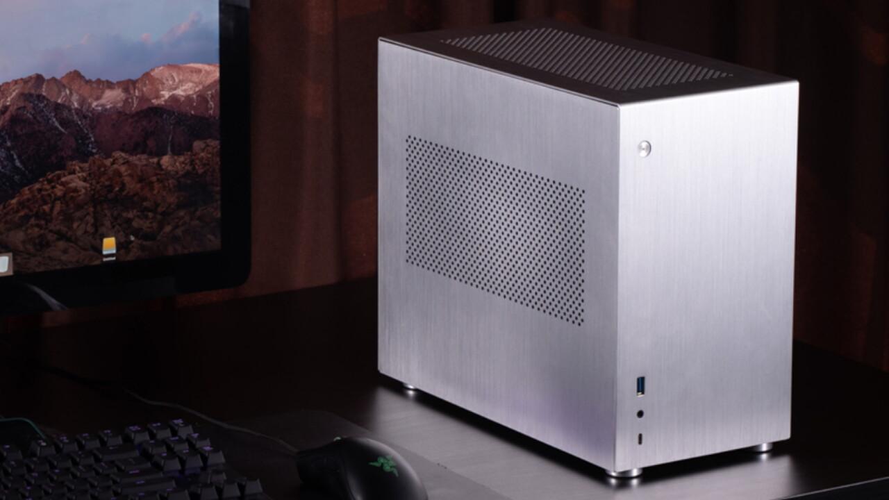 Mini-ITX-Gehäuse: Jonsbo V10 denkt einen Radiator mit - ComputerBase