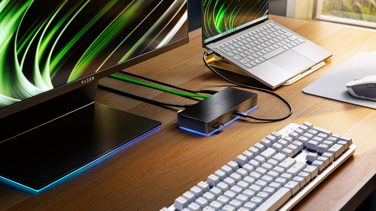 Razer: Thunderbolt-4-Dock und Laptop-Stand mit Chroma