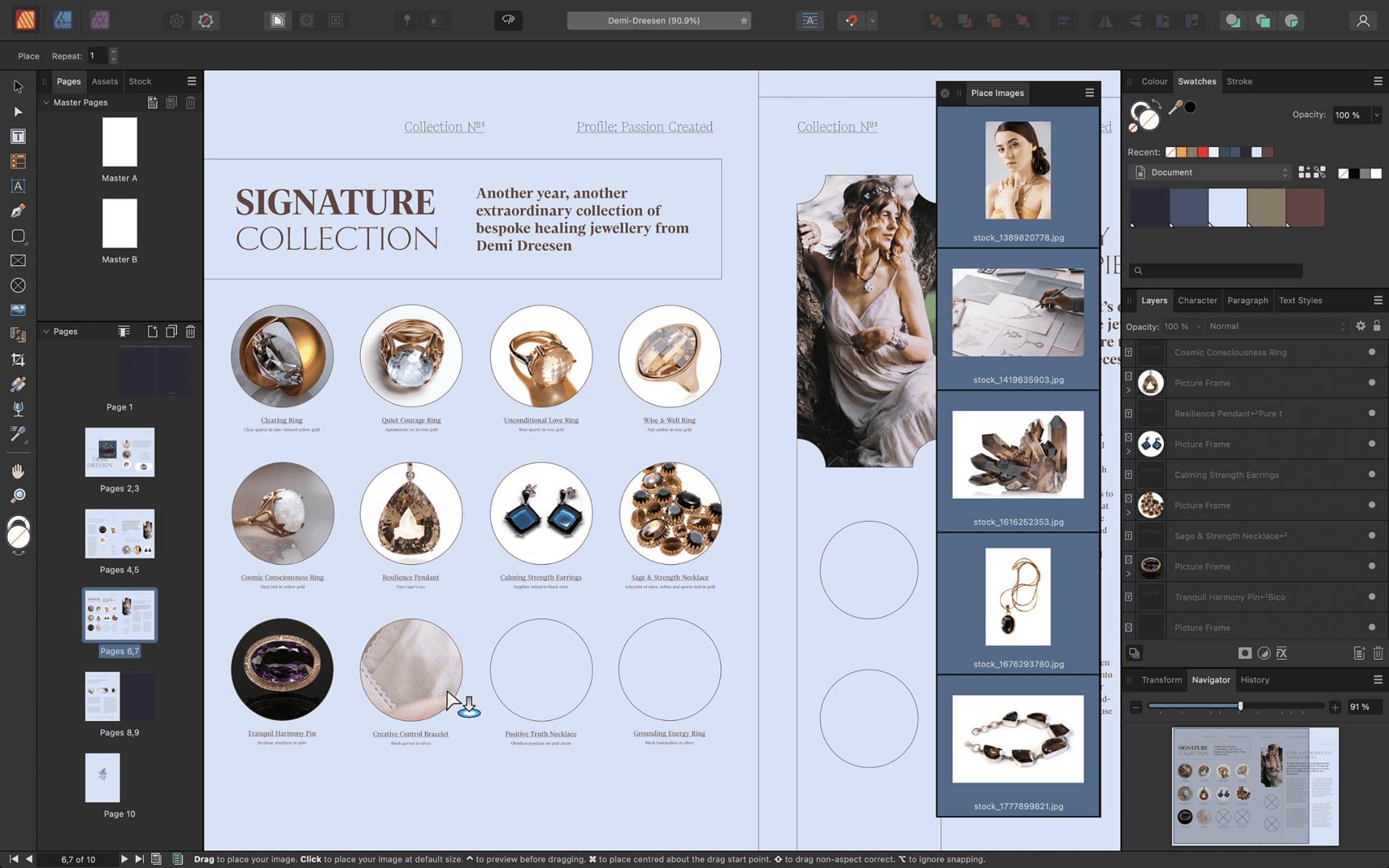 Affinity Publisher – Unterstützung für CMYK- und Pantone-Farben