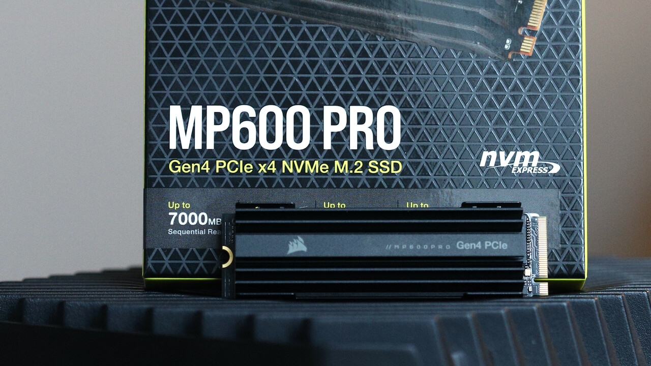 Corsair MP600 Pro 2 TB im Test: Next-Gen-SSD mit fast 2 GB/s nach dem SLC-Modus