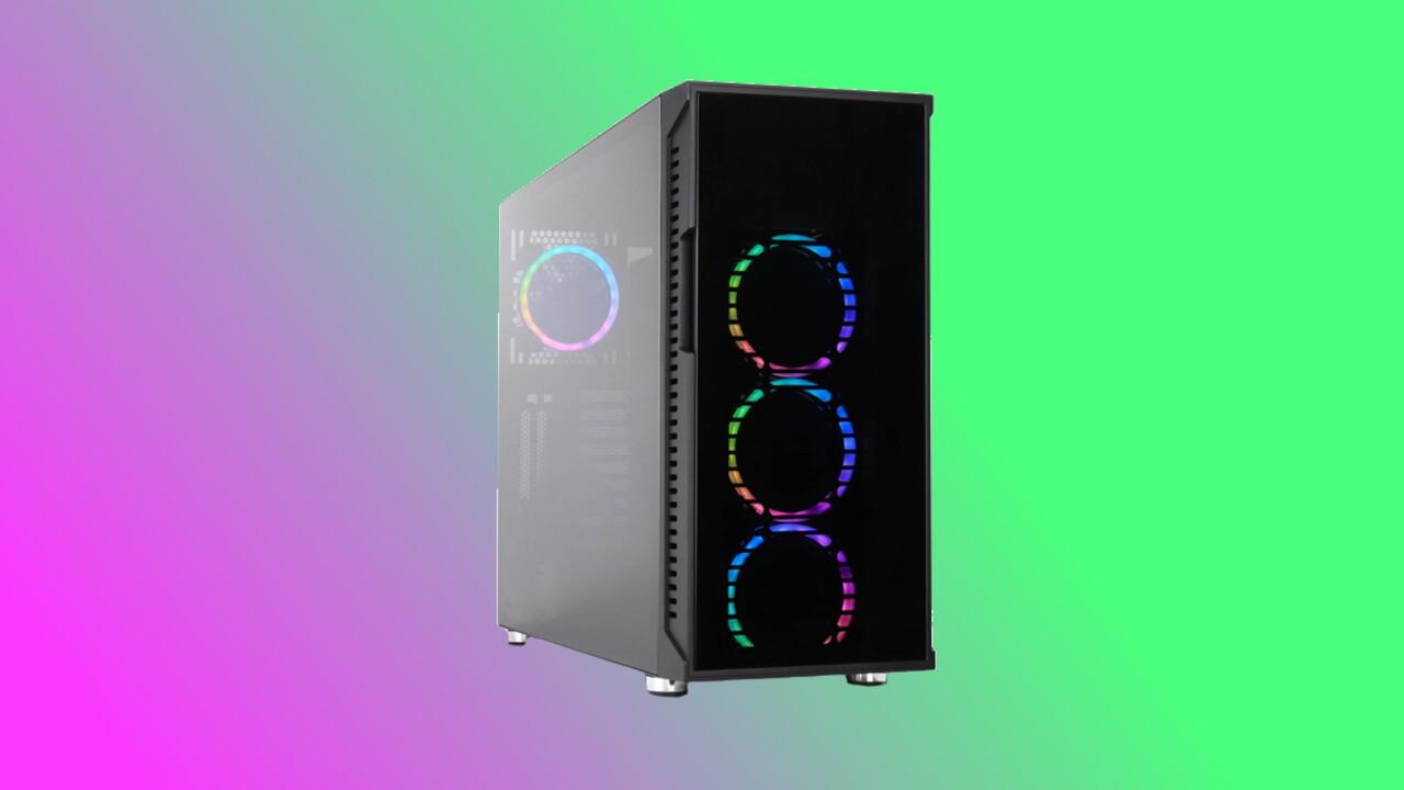 Nanoxia A-RGB: Buntes Licht und optisches Laufwerk hinter Glastür