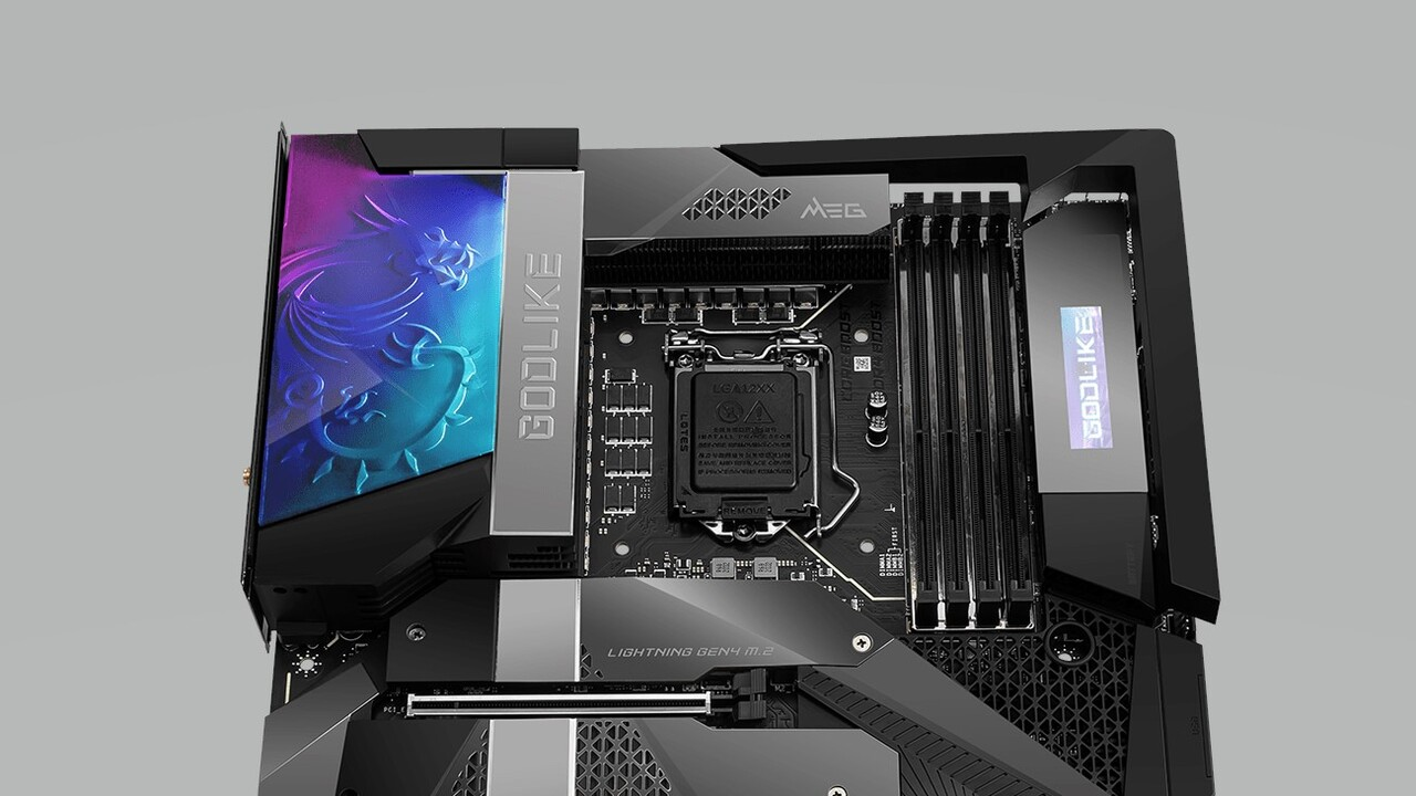 MSI MEG Z590 Godlike: Extremes VRM-Design, Dual-TB4, 10-GbE-LAN und Wi-Fi 6E - ComputerBase