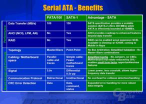 Vorteile von Serial ATA