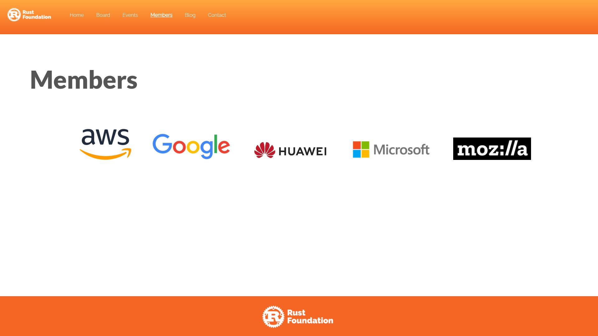 Rust wird unabhängig und hat neben Mozilla weitere Partner gefunden