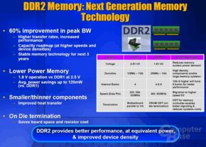Vorteile von DDR2