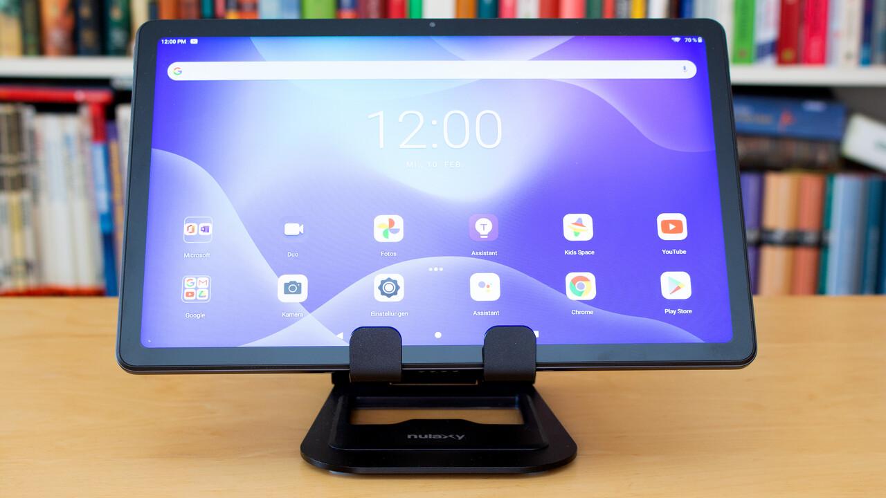 Lenovo Tab P11 im Test: Multimedia-Tablet mit Android 10 für 249 Euro - ComputerBase