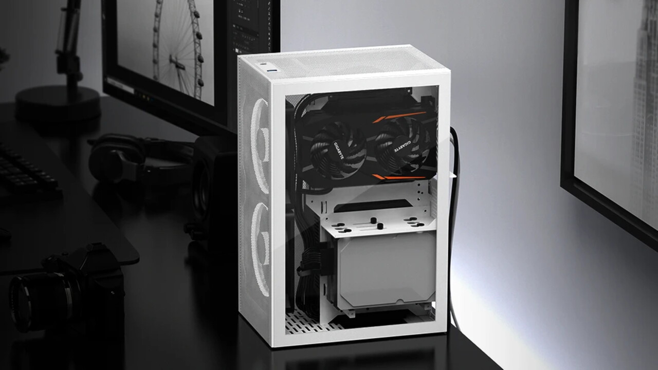 14 Liter großes ITX-Gehäuse: Das Meshlicious lässt Luft freien Lauf - ComputerBase