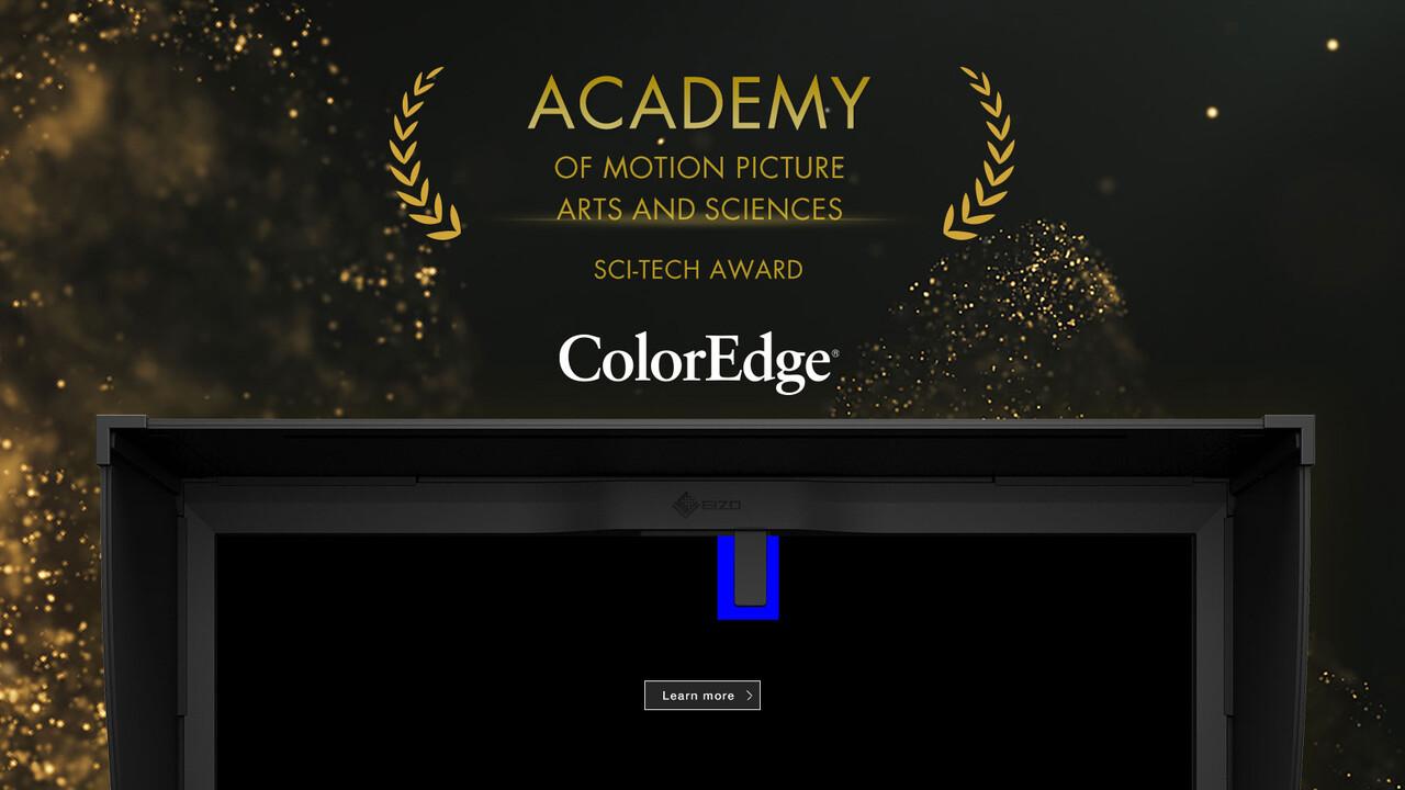 Eizo ColorEdge: Technik-Oscar für selbstkalibrierende Monitore