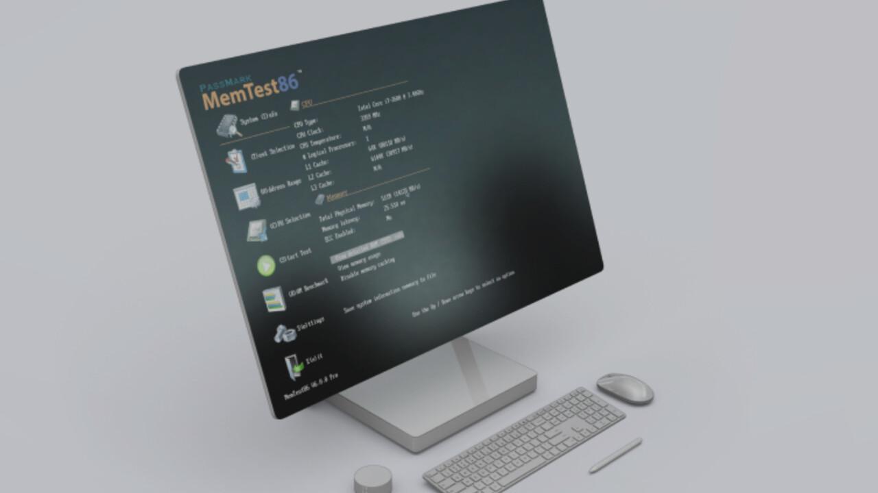MemTest86 9.0: RAM-Fehlerdiagnose von PassMark mit großem Update