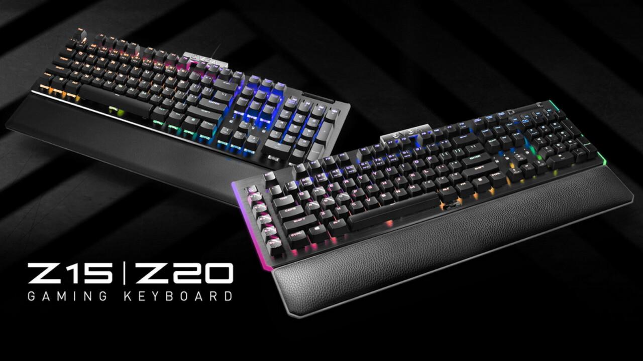 Hertzrasen: EVGA Z15 und Z20 sind Tastaturen mit 4.000 Hz - ComputerBase
