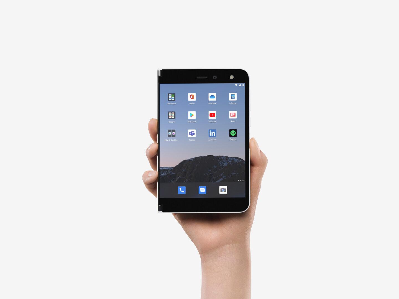 Surface Duo Homescreen