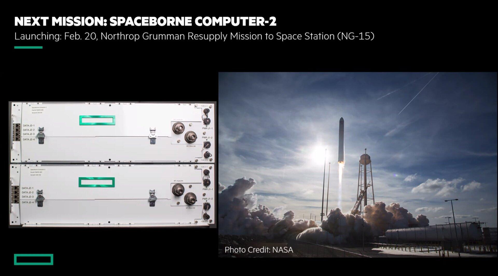 HPE Spaceborne 2 startet am 20. Februar