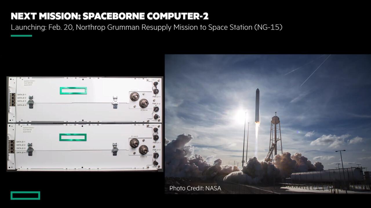 Spaceborne Computer-2: HPE schickt zweiten Weltraum-Computer zur ISS
