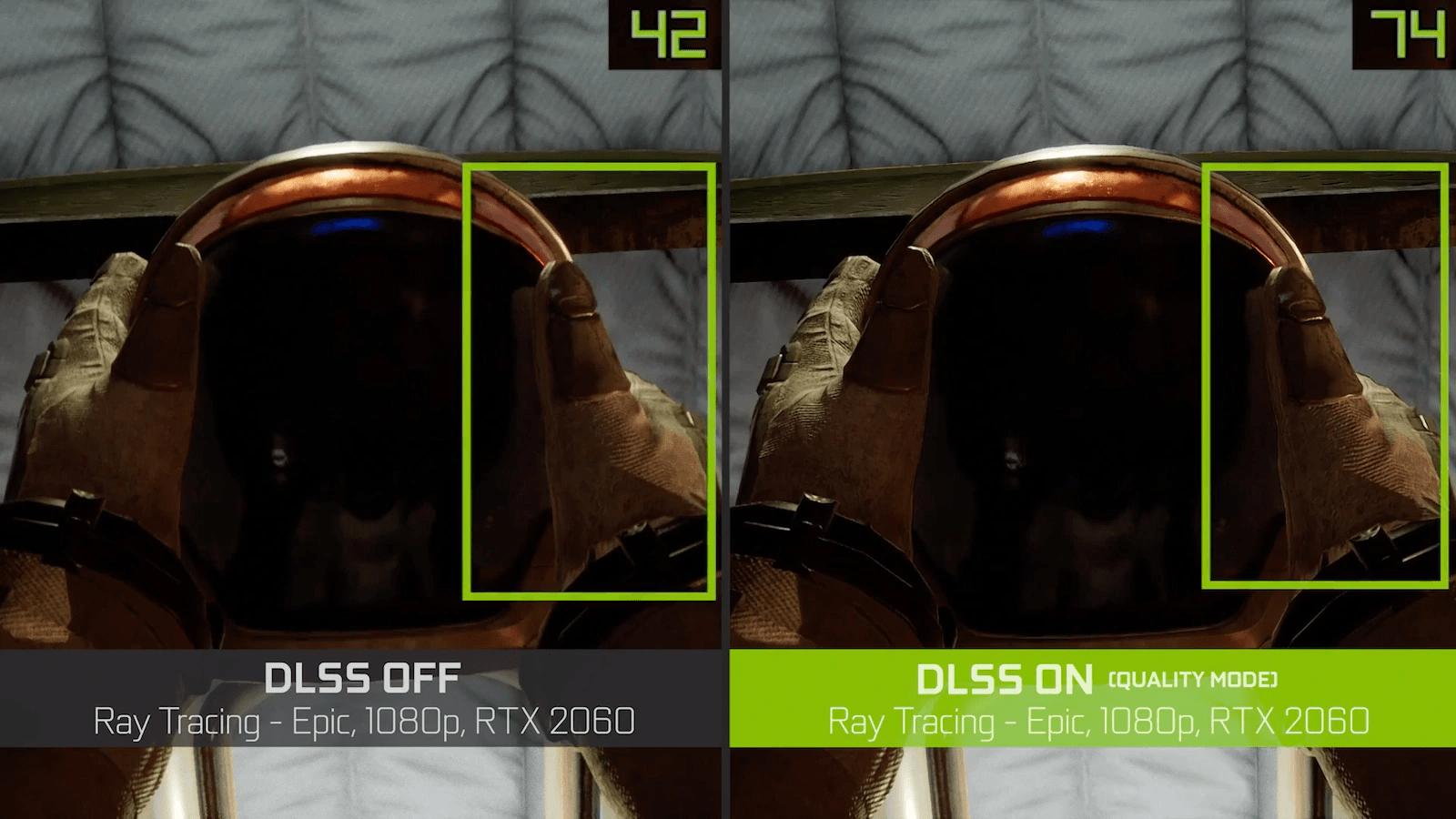 Nvidia DLSS 2.0 auf der Unreal Engine 4