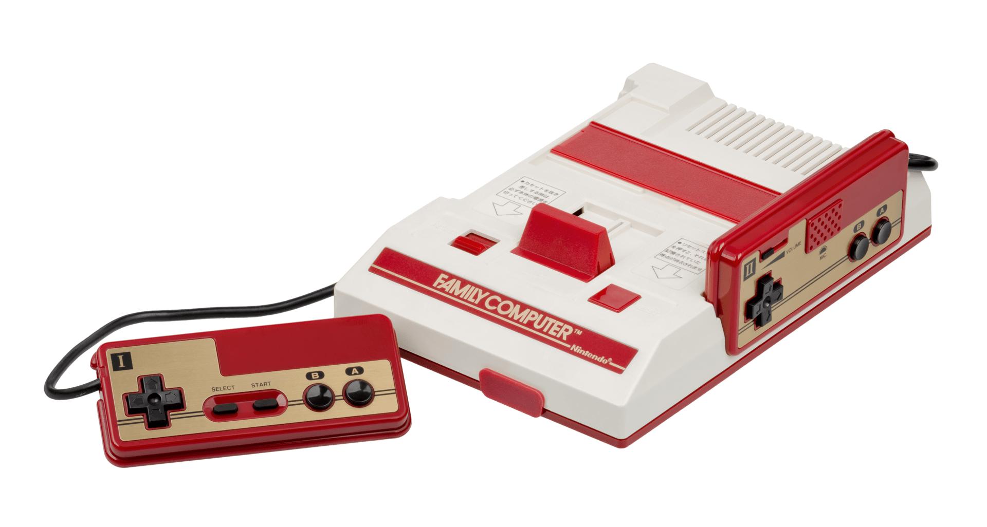 Der Nintendo Famicom ist die Ur-Form des NES