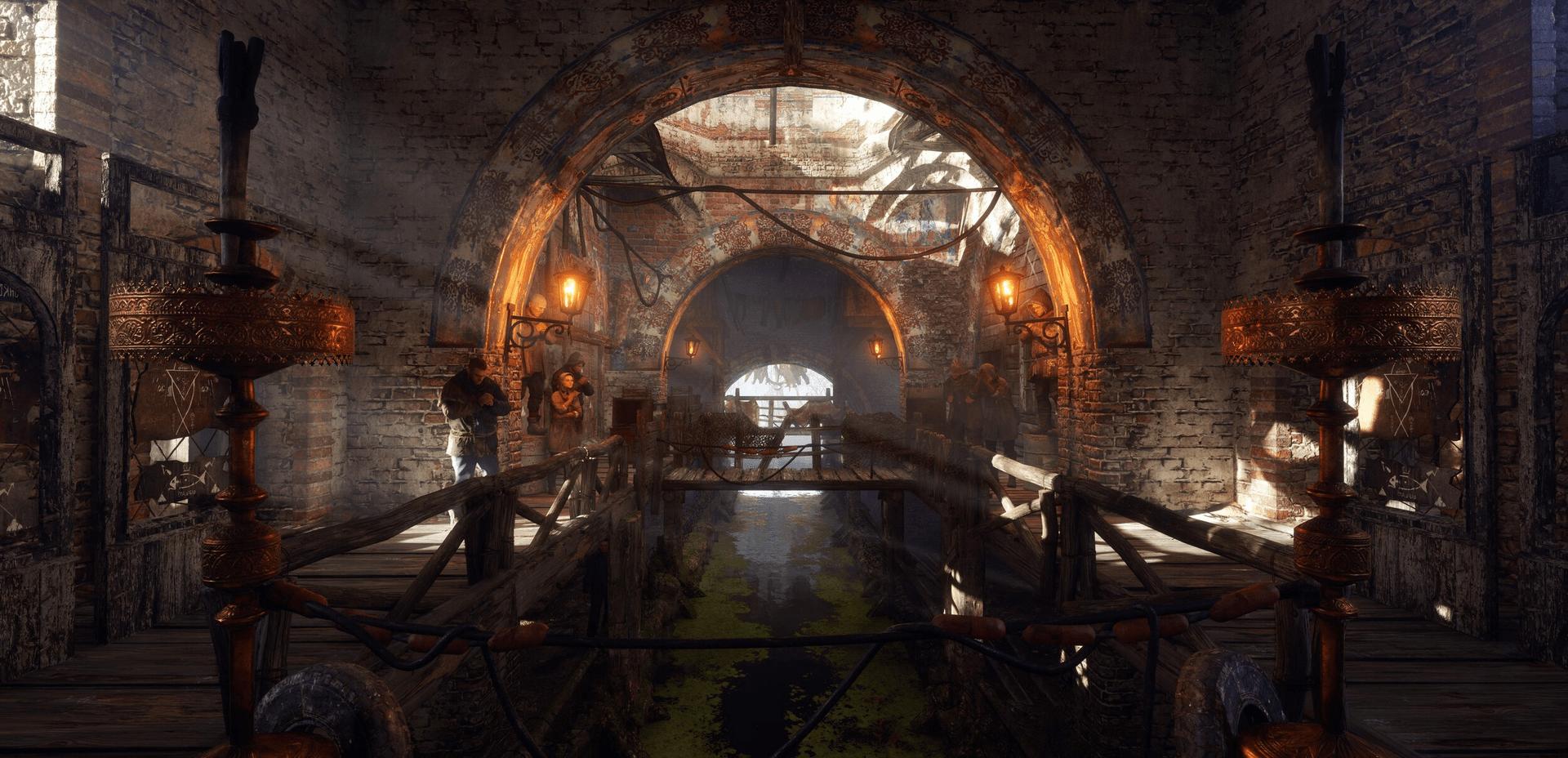 Ein erster Screenshot der PC-Version der Metro Exodus Enhanced Edition