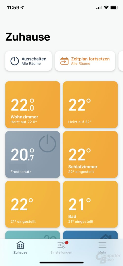 "Neue ""Quick Actions"" in der Tado-Beta"