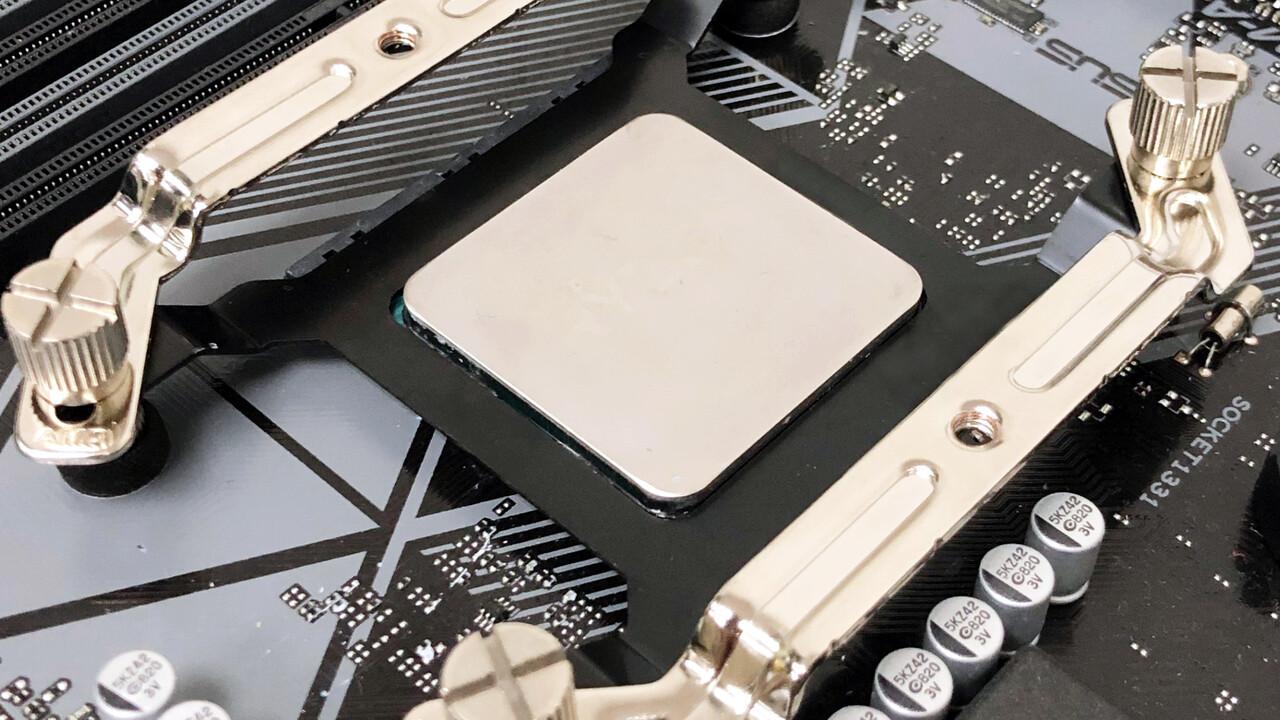 Halterahmen für AM4: Schutz vor Herausreißen der CPU samt Kühler