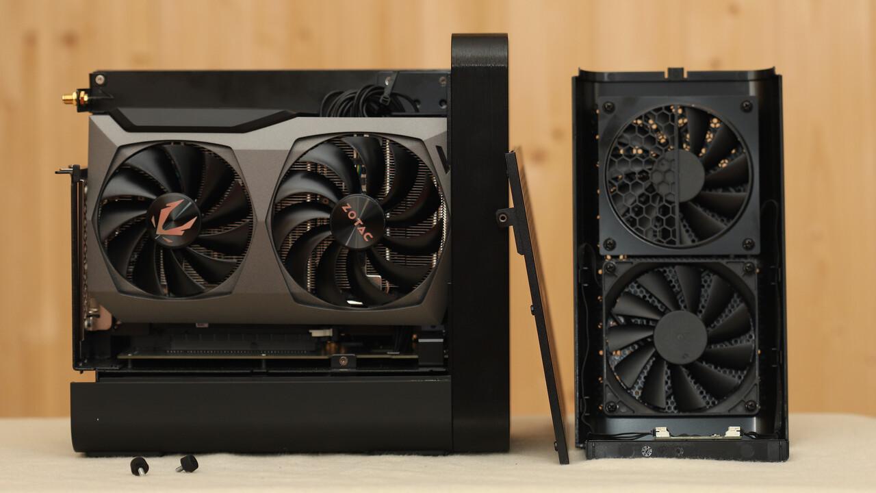 Zotac Zbox Magnus One im Test: Kompaktklasse-Gaming-PC mit 65-W-CPU und RTX 3070 - ComputerBase