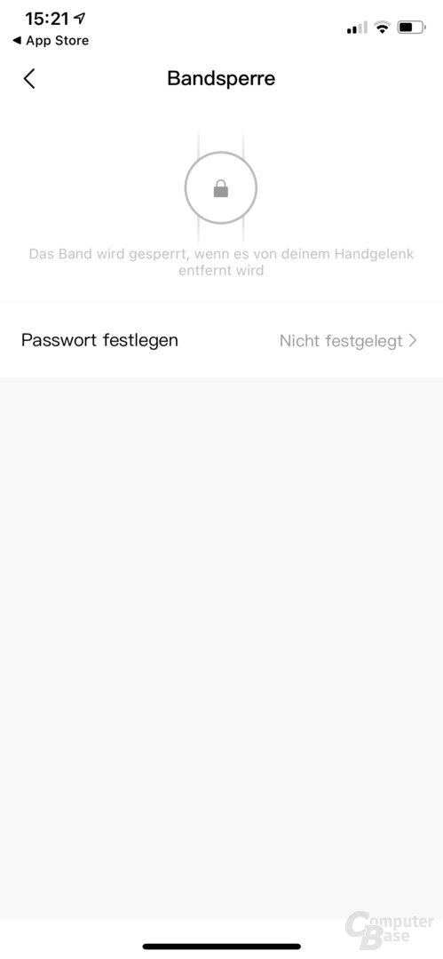 Zepp-App für die Amazfit GTR 2