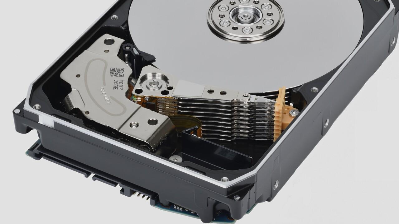 MG09 Serie: Toshibas erste 18‑TB‑Festplatte nutzt MAMR