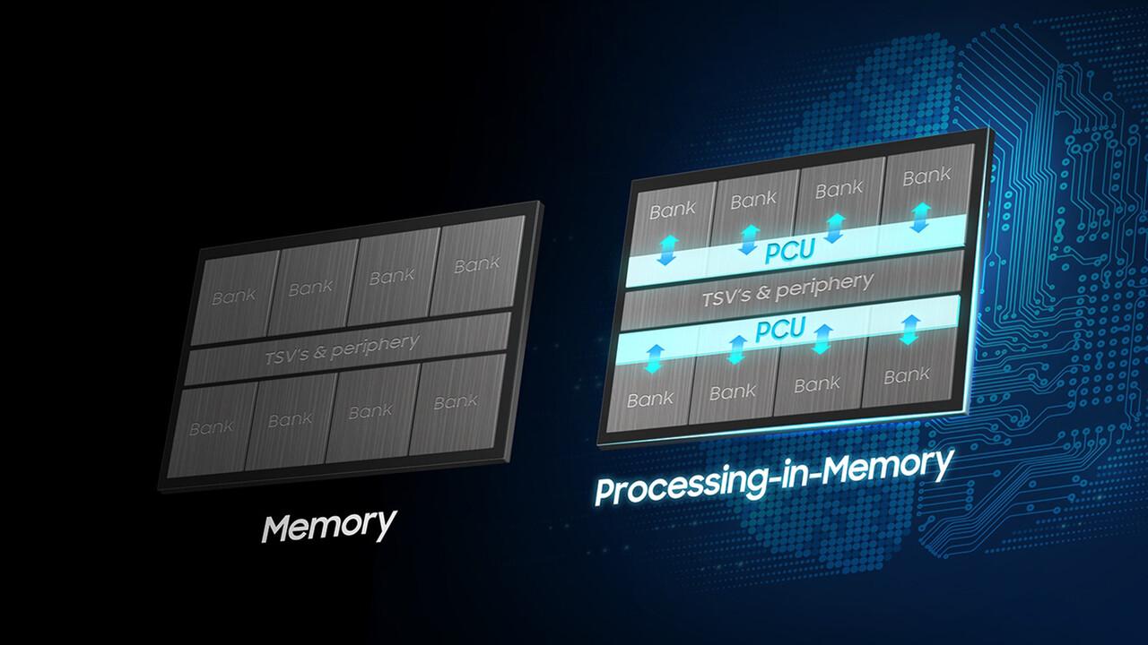 HBM2 mit AI: Samsungs Spezial-RAM bringt Processing-In-Memory