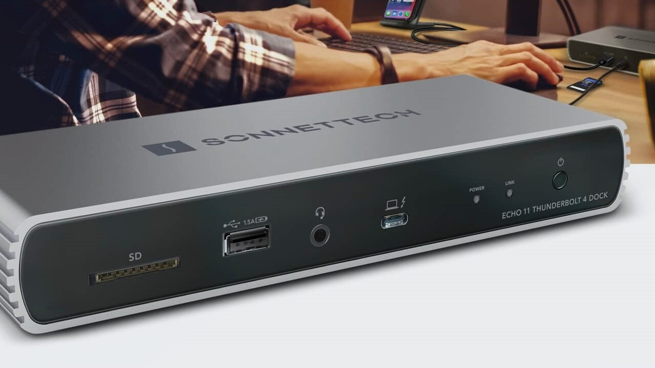 Echo 11 Thunderbolt 4 Dock: Sonnets neue TB4-Dockingstation ist kleiner