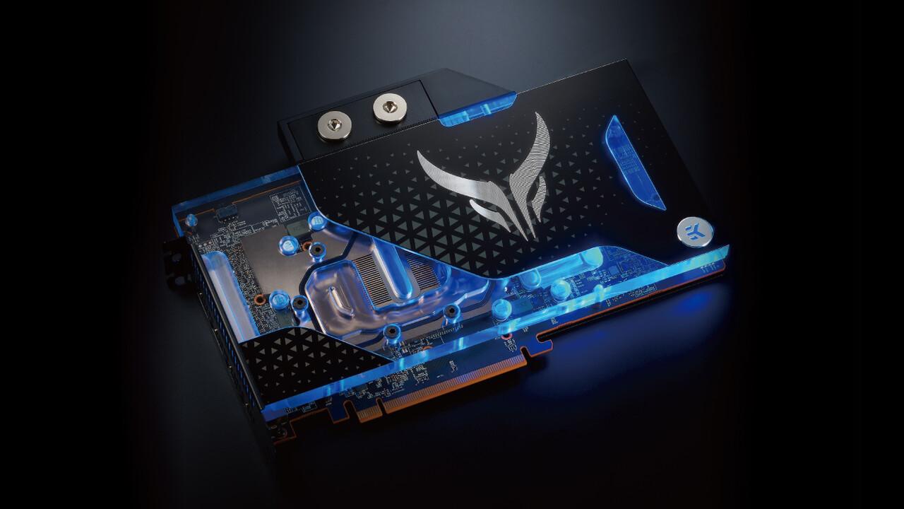 PowerColor Liquid Devil: AMD Radeon RX 6900 XT mit Wasserkühler von EKWB