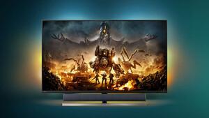 """Momentum 559M1RYV: 55""""-Monitor von Philips erhält 144 Hz, HDMI 2.1 und USB-C"""
