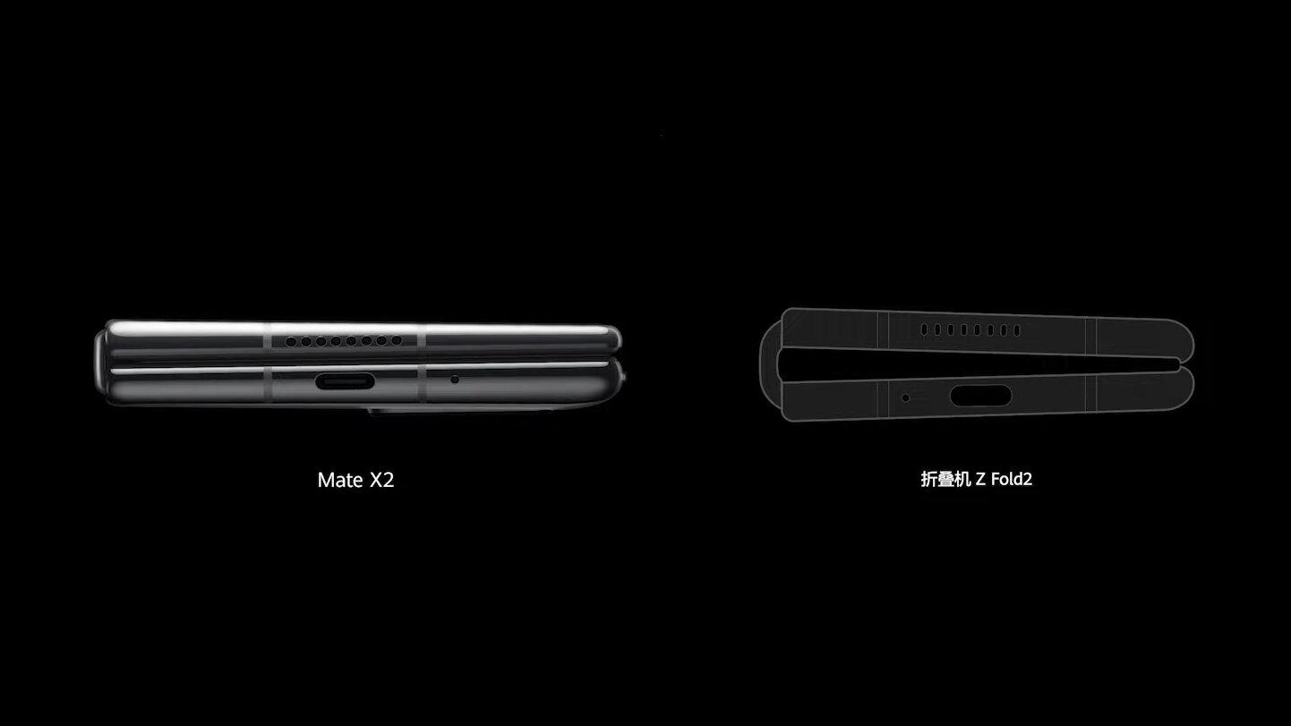 Huawei Mate X2 vs. Samsung Galaxy Z Fold 2