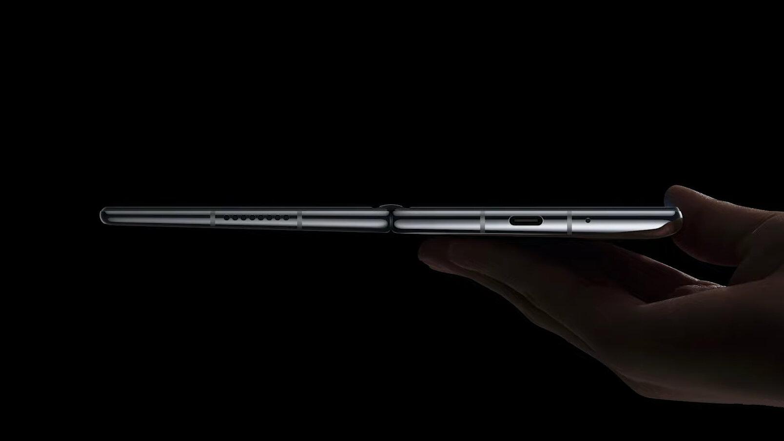 Huawei Mate X2 aufgeklappt