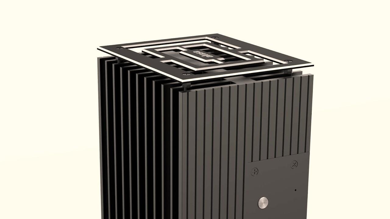 Akasa Turing A50: Lüfterloses Alu-Gehäuse für Renoir-APU des Asus PN50 - ComputerBase