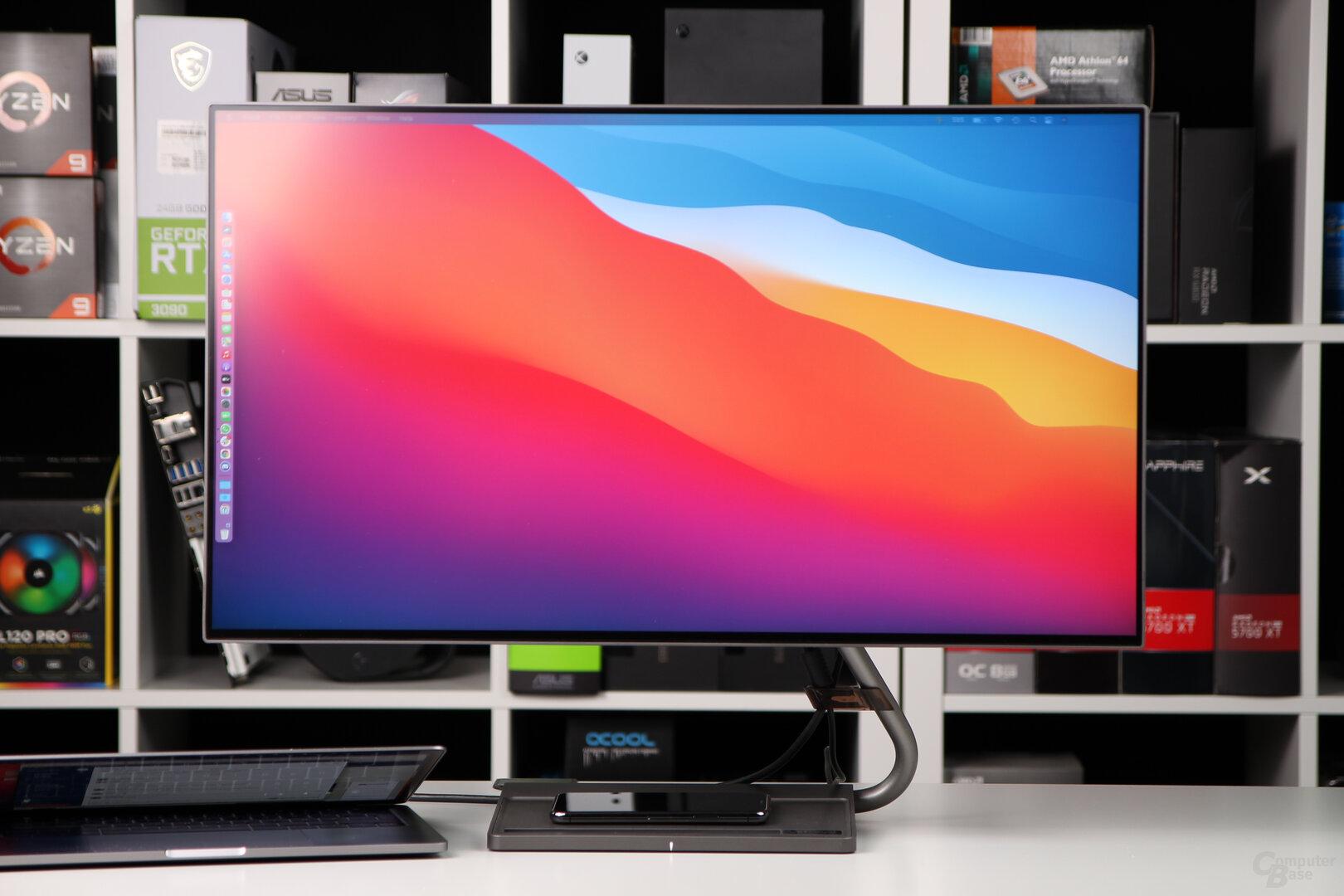 Lenovo Qreator 27: Gute Farben und scharfes Bild