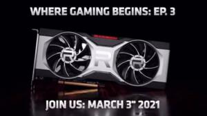 AMD: Neue Radeon RX (6700XT) kommt am 3.März
