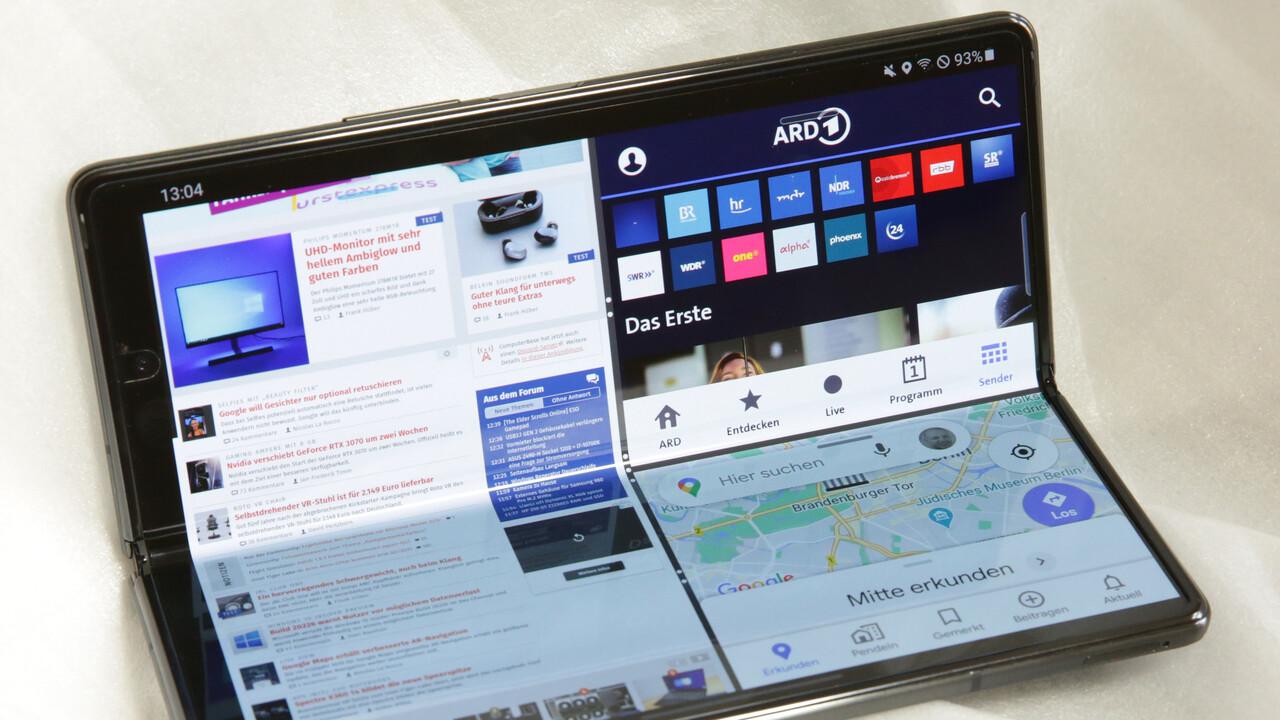 One UI 3.1: Samsung Galaxy Z Fold 2 erhält besseres Multitasking - ComputerBase