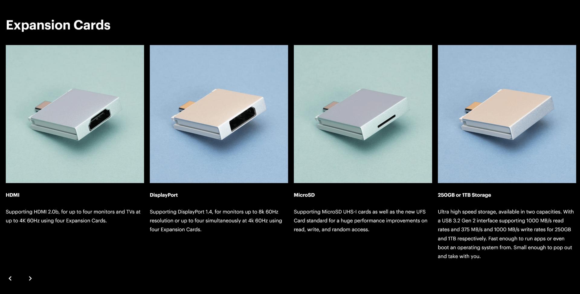 Auch die Konnektivität des Framework Laptops ist modular ausgelegt