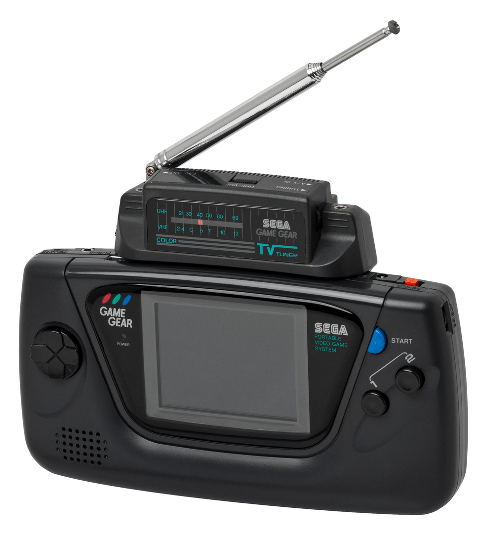 Sega Game Gear with optional TV tuner