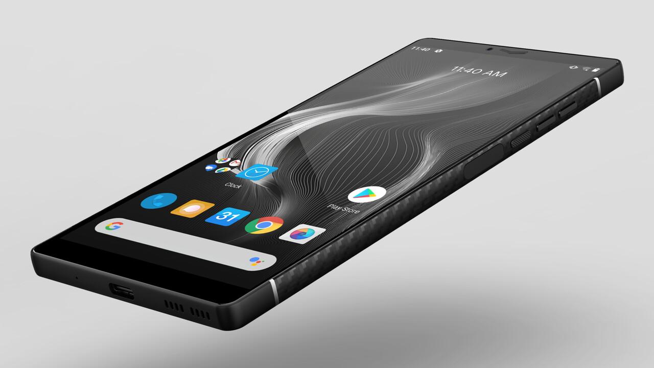 Carbon 1 MK II: Das Karbonfaser-Monocoque-Smartphone startet doch noch