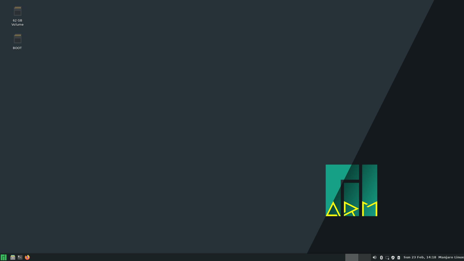 Manjaro ARM 21.02 mit Xfce 4.16