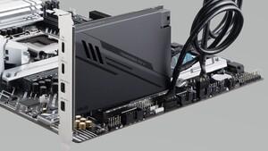 Asus ThunderboltEX 4: Thunderbolt-4-Karte nutzt PCIe-3.0-x4 für 8K-Display