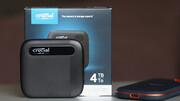 Crucial X6 Portable SSD im Test: 800 GB wie im Rausch, den Rest wie im Koma