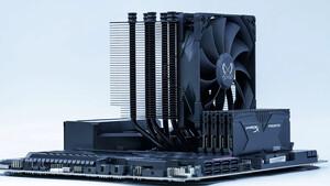 Mugen 5 Black Edition: Luftkühler-Urgestein in Schwarz mit flottem Lüfter