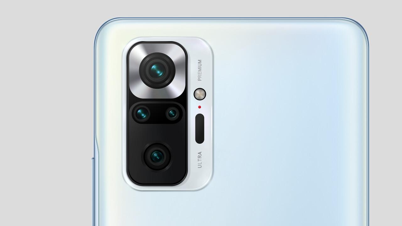 Xiaomi: Redmi Note 10 Pro, 10S und 10 nutzen AMOLED-Displays
