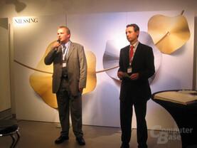 Christian Anderka und Hannes Schwaderer