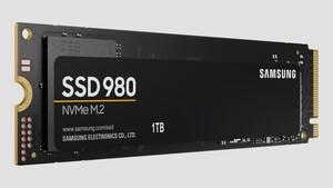 """Solid State Drive: Samsung SSD 980 ohne """"Pro"""" und ohne DRAM"""