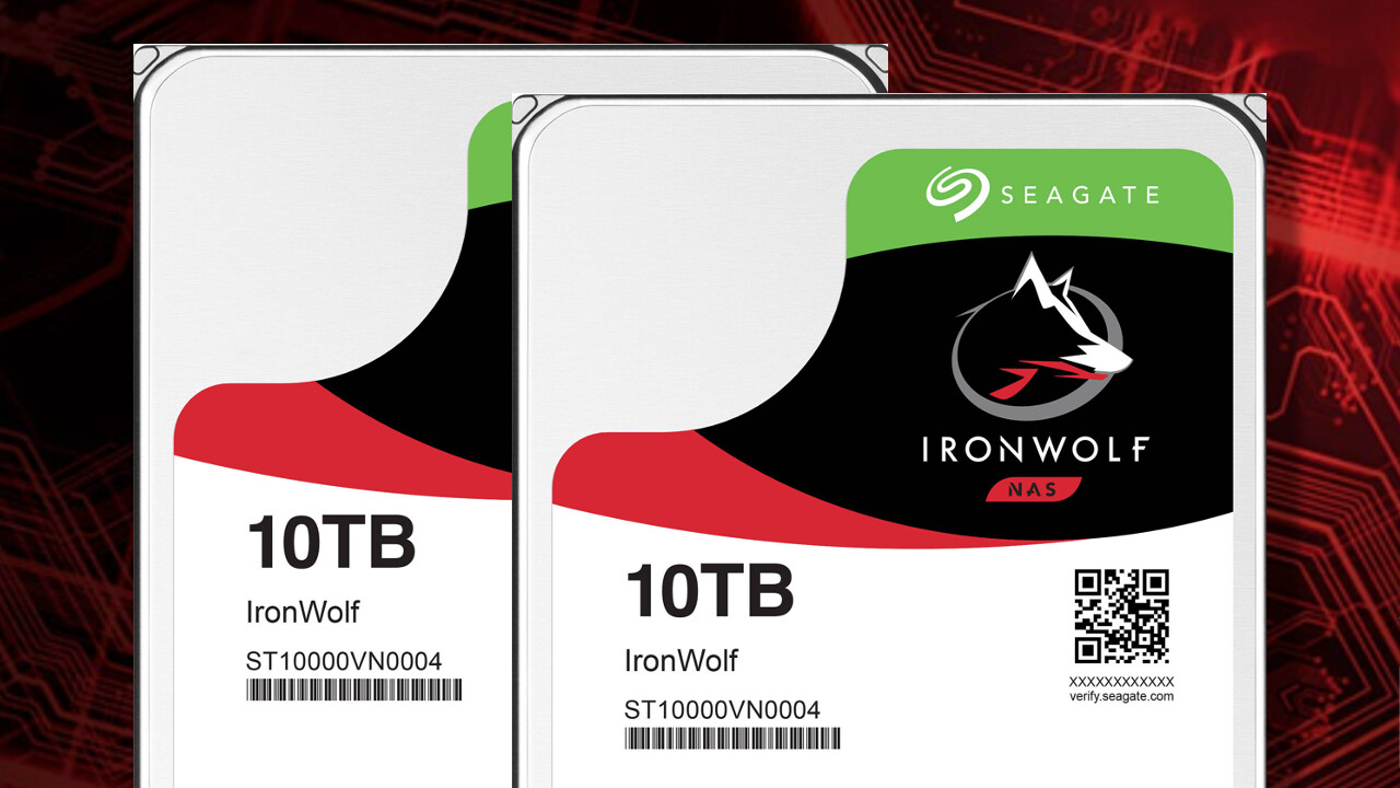 Seagate IronWolf: 2 × 20 TB für NAS mit Health Management gewinnen [Anzeige]