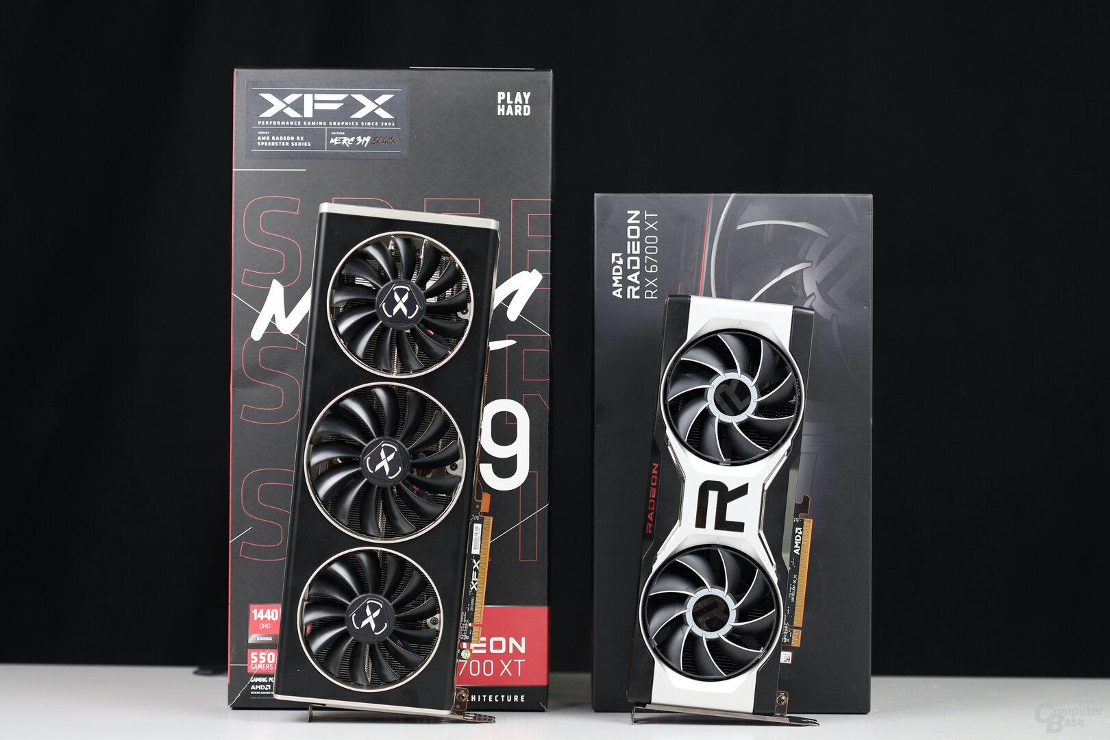 AMD RX 6700 XT und XFX RX 6700 XT Merc 319 im Test